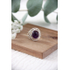 Gift Idea Mom-Fine Stones-Ring-Amethyst-Sterling Silver-Woman