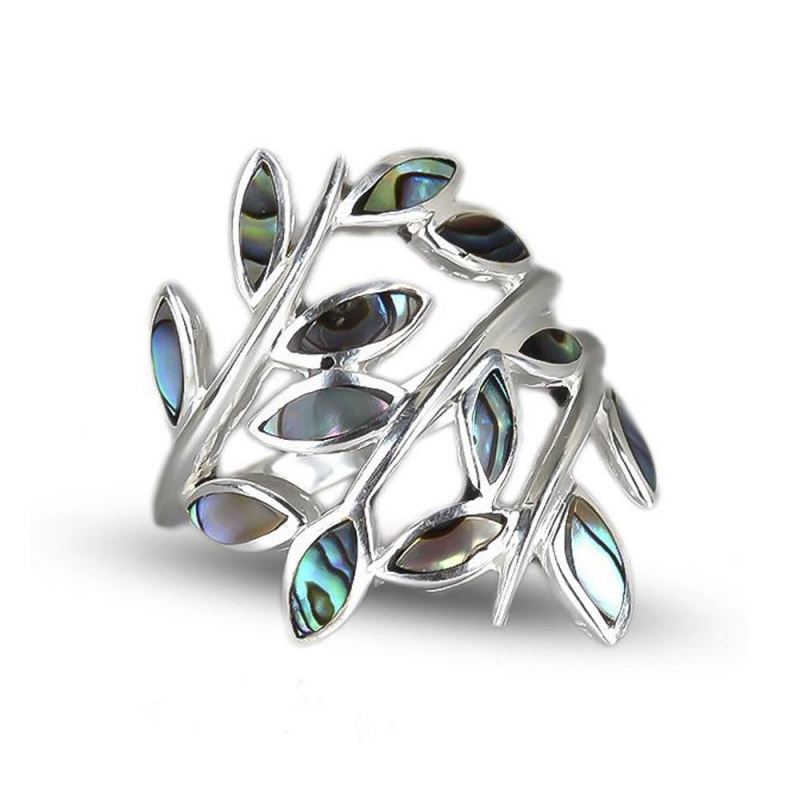 Mother of pearl finger rings