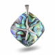 Pendant starfish mother of pearl abalone and silver 925 K