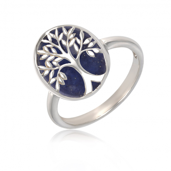 925 Sterling Silver Imitation Tree of life Ring