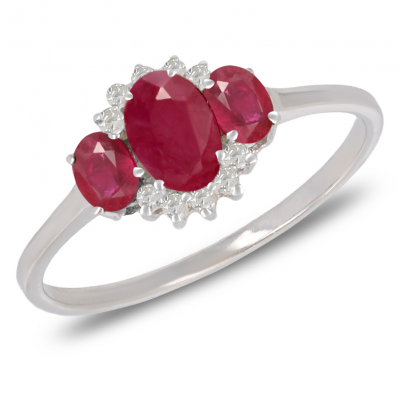 Jewelry Symbol Tree of Life-Ring-Coral-Red- Sterling Silver-Woman