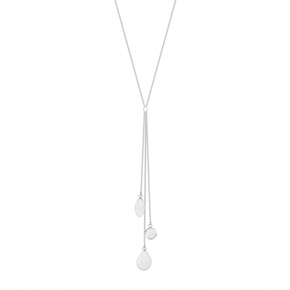 925 Sterling Silver Moonstone Necklace